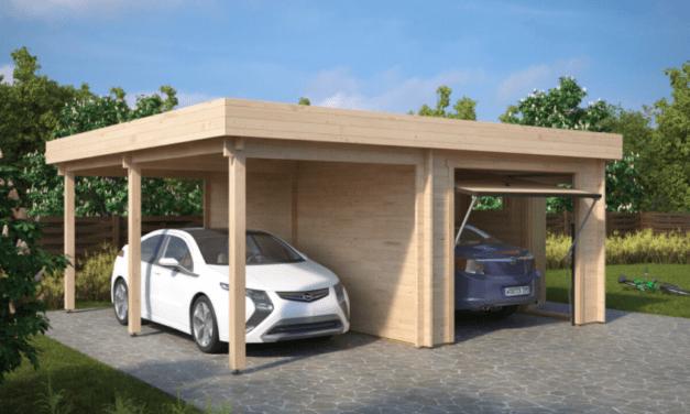 En garage kan bruges til mere end en bil